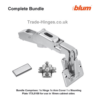 19 New Blum 170 Degree Hinge